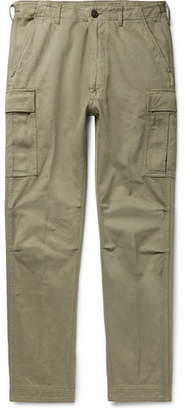 Tom Ford Slim-Fit Cotton-Twill Cargo Trousers