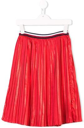 Tommy Hilfiger Junior pleated long skirt