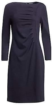 Giorgio Armani Women's Ruched Jersey A-Line Dress