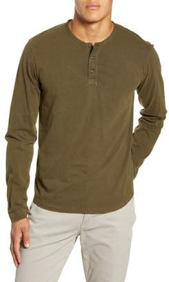 Alex Mill Sueded Long Sleeve Henley