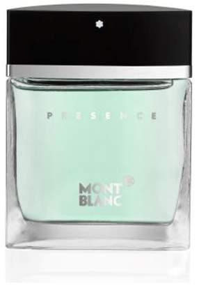 Next Mens Mont Blanc Presence Homme Eau De Toilette 50ml