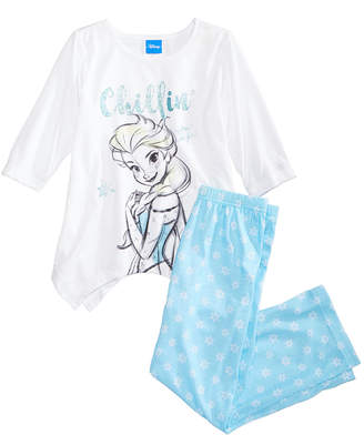 Disney's Frozen 2-Pc. Elsa Pajama Set, Little Girls & Big Girls, Created for Macy's