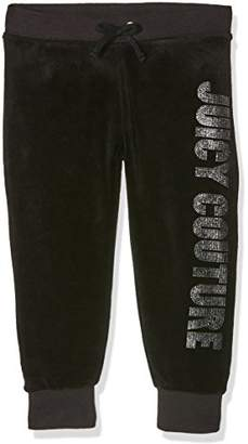 Juicy Couture Girl's Logo VLR Crystal JC ZU Pant Trousers,(Manufacturer Size:8)