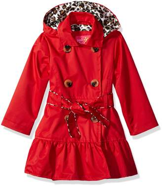 Pink Platinum Toddler Girls' Tod Classic Trench with Satin Lining