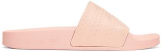 adidas Originals Pink Adilette Slide Sandals $30 thestylecure.com