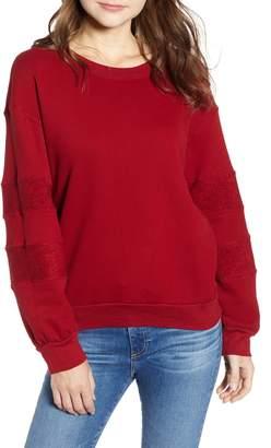 Stateside French Terry Stripe Sweatshirt