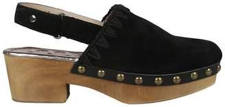 Mou Embellished Wedge Sandals