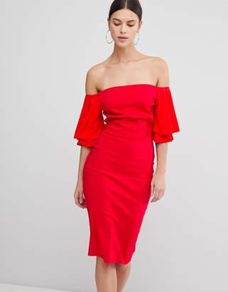 Bardot Vesper Short Sleeve Dress
