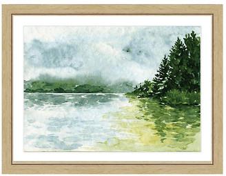 One Kings Lane Watercolor Landscape Print II Art