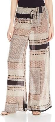 Glamorous Women's Scarf Print Soft Pant