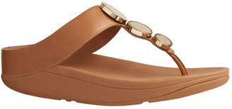 FitFlop Halo Leather Platform Sandals