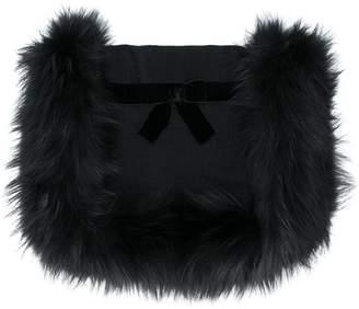 Fendi cosy bow scarf