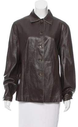 Loro Piana Lightweight Leather Jacket