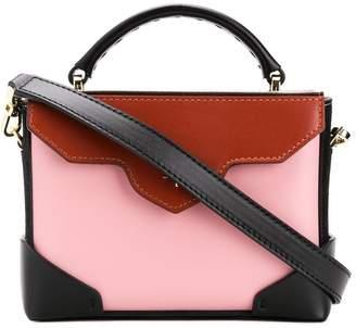 Atelier Manu Bold color-block shoulder bag