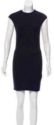 Alexander McQueen Bird Pattern Mini Dress