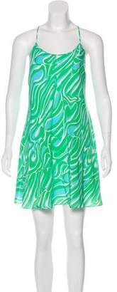Lilly Pulitzer Printed Silk Dress