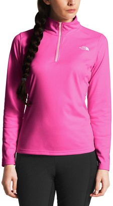 The North Face Pink Ribbon Tech Glacier 1/4-Zip Jacket - Women's