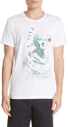 Burberry Camberley Abith Graphic T-Shirt