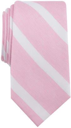 Bar III Men's Ossie Stripe Skinny Tie, Created for Macy's