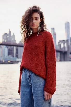 Free People Fluffy Crew Sweater