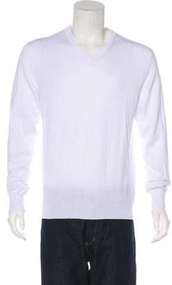 Calvin Klein Collection Knit V-Neck Sweater
