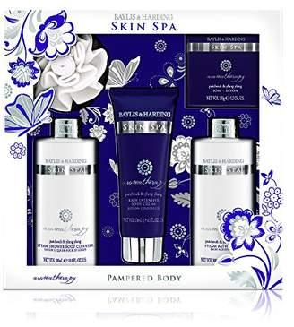 Baylis & Harding Baylis and Harding Skin Spa Aromatherapy Patchouli and Ylang Ylang Rise and Shine Pamper Pack