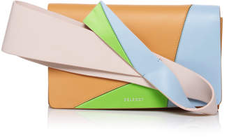 DELPOZO Multicolor Orchid Clutch