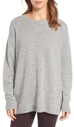 Women's James Perse Oversize Cashmere Sweater $375 thestylecure.com