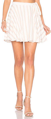 Privacy Please Randall Skirt in Ivory $128 thestylecure.com