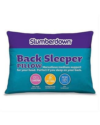 Slumberdown Back Sleep Pillow