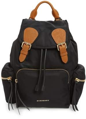 Burberry 'Medium Runway Rucksack' Nylon Backpack