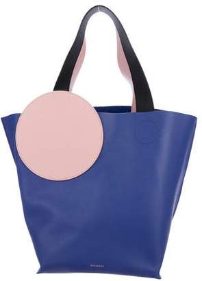 Roksanda Eider Colorblock Leather Tote