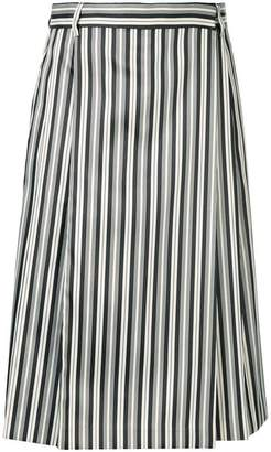 McQ striped midi dress