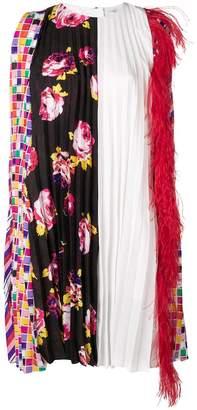 MSGM pleated straight dress