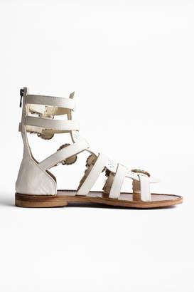 Zadig & Voltaire Capri Crush Sandals
