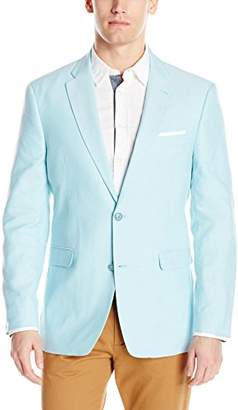 Tommy Hilfiger Men's Two Button Oxford Weave Blazer
