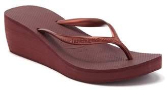 Havaianas High Fashion Platform Wedge Flip Flop