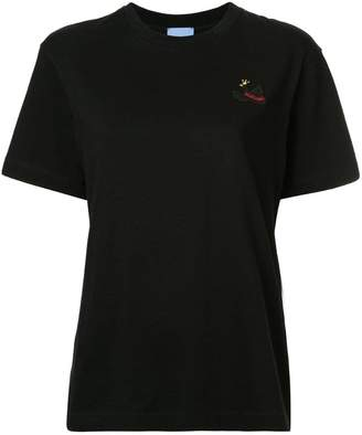 Macgraw swan patch T-shirt