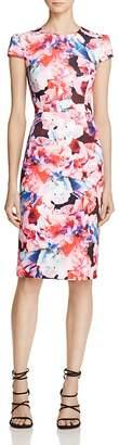 Betsey Johnson Floral-Print Scuba Sheath Dress $138 thestylecure.com