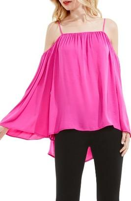 Petite Women's Vince Camuto Off The Shoulder Blouse $89 thestylecure.com