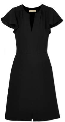 Vanessa Bruno - Island Gathered Crepe Dress - Black