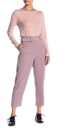 Elodie High Waist Belt Pants