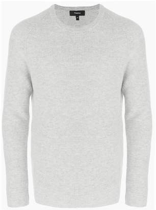 Theory ribbed raglan sweater
