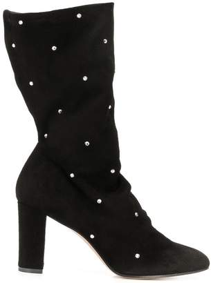 Marc Ellis crystal studded boots