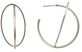 Lucky Brand Orbital 46mm Hoop Earrings