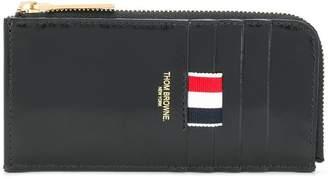 Thom Browne half zip-around wallet