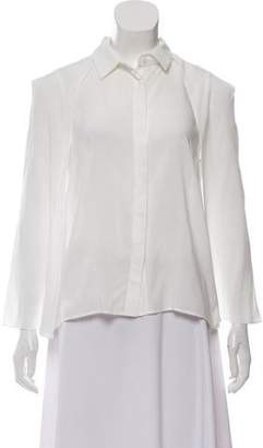 Reese + Riley Sleeveless Collared Blouse w/ Tags