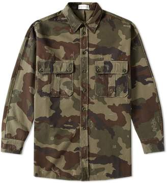 Faith Connexion Camouflage Kanye West Shirt