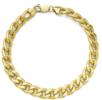 PRIVATE BRAND FINE JEWELRY Made in Italy 10K Yellow Gold Curb Chain Bracelet