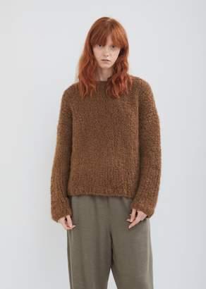 LAUREN MANOOGIAN Handknit Boucle Box Sweater